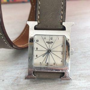 Hermès H Heure Double Tour Watch